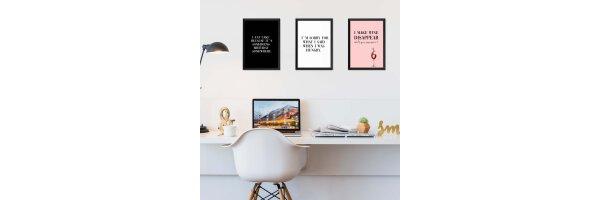 Poster-Wandbilder