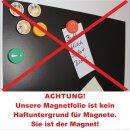 3er Set Magnetfolie in DIN A4 I selbstklebend