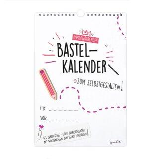 DIY Bastelkalender zum selbst gestalten I DIN A4
