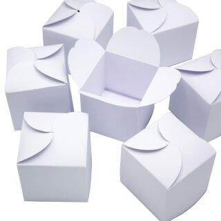 24 weiße Geschenkboxen I DIY Adventskalender