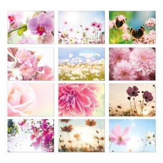 Blumen Postkarten-Set