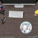 Mauspad mit frechem Einhorn NÖ  - Mousepad, Notebook, Mädchen, detailverliebt