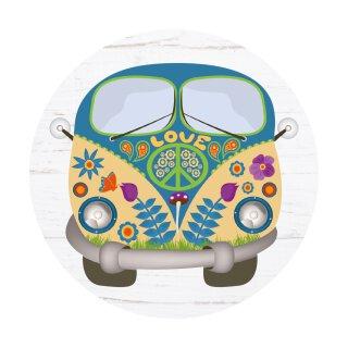 Mauspad Hippie-Bus