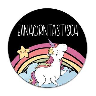 Einhorn-Mauspad Einhorntastisch