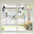 18er Aufkleber-Set Vogelschutz und Fensterschutz I hin_287