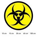 Aufkleber Biohazard