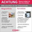 DIN A2 Ferrofolie selbstklebend Magstick®