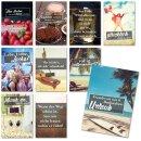 20er Postkarten-Set mit schönen Sprüchen