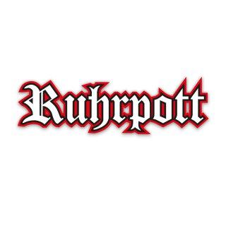1 Sticker Ruhrpott rot I kfz_137 I 15 x 4,5 cm