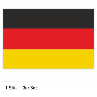 Aufkleber Deutschland-Flagge