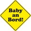 Auto-Magnet Schild Baby an Bord