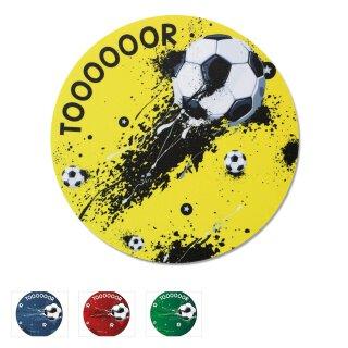 Mauspad im Fußball-Design I Ø 22 cm rund