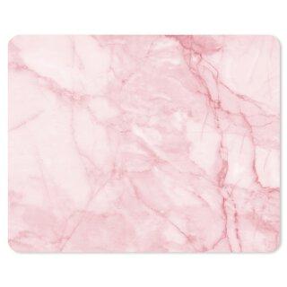 Mauspad Marmor-Look I 24 x 19 cm I rosa