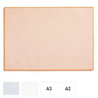 Millimeterpapier-Block  zum Beschreiben und skizzieren I DIN A2