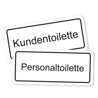Kunden- und Personal-Toilette