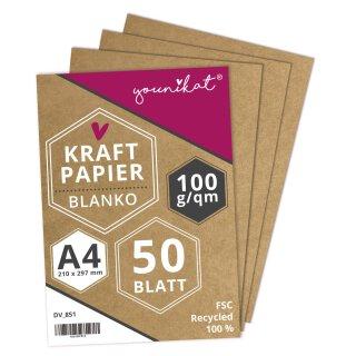 Vielseitiges 100 g/m² Kraftpapier