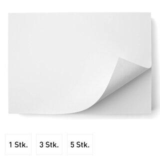 Malblock für langanhaltenden Zeichenspaß - DIN A3 I 50 Blatt I Blanko I zum abreißen I 90g/m² Offset Papier-Block zum beschreiben und bemalen