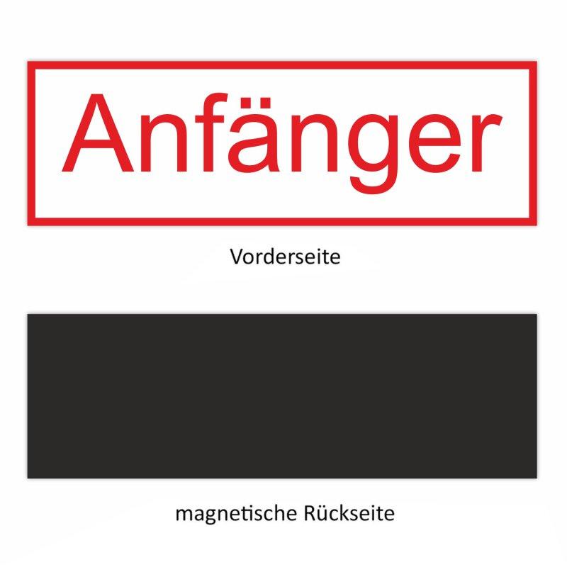 Bitte Luft Magnetschild Schild magnetisch Kiwistar Anf/änger