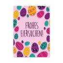15 Oster-Karten Frohes Eiersuchen I DIN A6