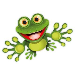 Sticker funny Frosch I 15 cm