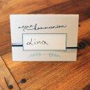 40 Tischkarten zur Kommunion